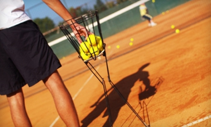 Scarborough East Tennis & Fitness Club - Independence Village: $15 for a Half-Hour Private Tennis Lesson at Scarborough East Tennis & Fitness Club ($31 Value)