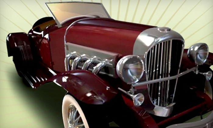 Auburn Cord Duesenberg Automobile Museum - Auburn: $19 for Two Adult Admissions and a DVD at Auburn Cord Duesenberg Automobile Museum ($37.95 Value)