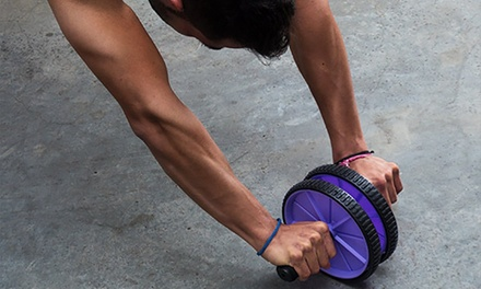 Rueda abdominal de Fitness BTK por 12,98 € (67% de descuento)
