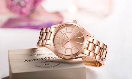 Relojes Timothy Stone con cristales Swarovski® por 24,90 € (81% de descuento) con envío gratuito