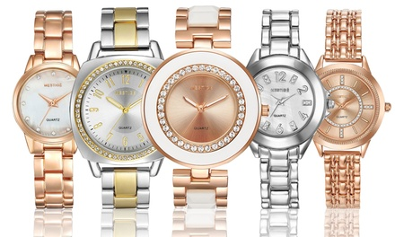 Mestigé Armbanduhr mit Kristallen von Swarovski® verziert im Modell und in der Farbe nach Wahl inkl. Versand (Koln)