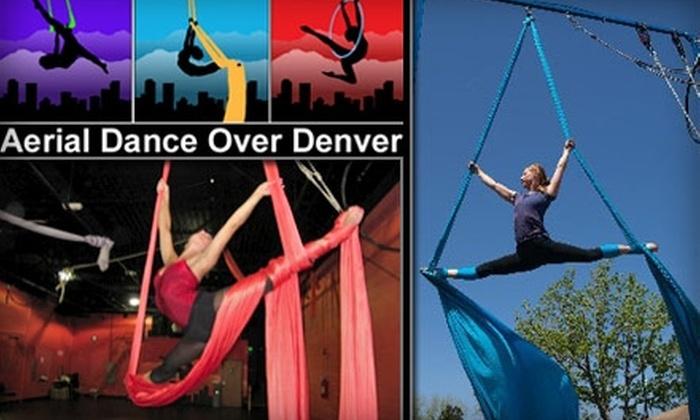 Aerial Dance Over Denver - Hampden: $14 for One Aerial Fitness or Aerial Basic Class at Aerial Dance Over Denver ($28 Value)