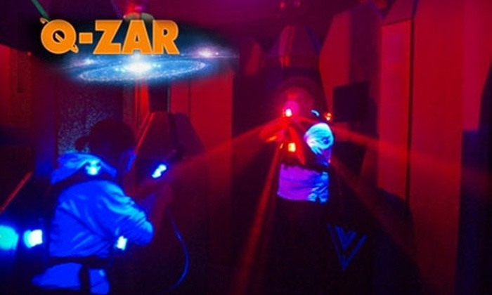 Q-Zar - Carle Place: $10 for Three Games of Laser Tag at Q-Zar in Carle Place ($21 Value)