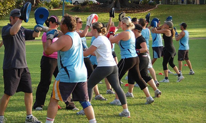 Waterfront Fitness - Multiple Locations: Four or Eight Weeks of Outdoor Boot Camp from Waterfront Fitness