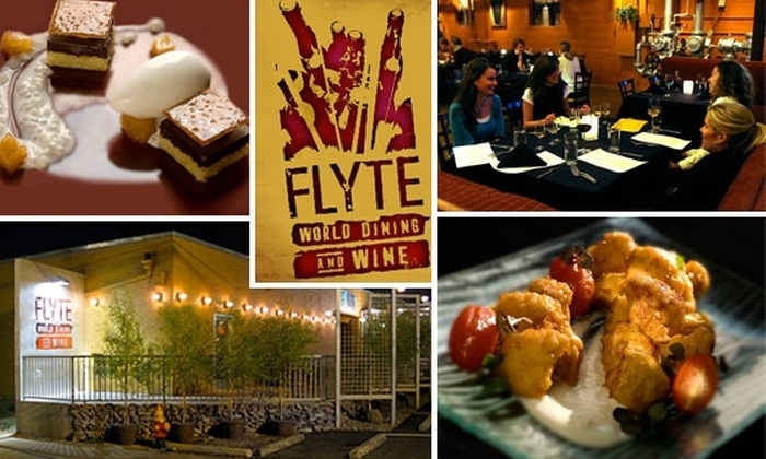 Flyte World Dining & Wine  - Downtown Nashville: $20 for $50 Worth of Award-Winning Cuisine at Flyte World Dining and Wine