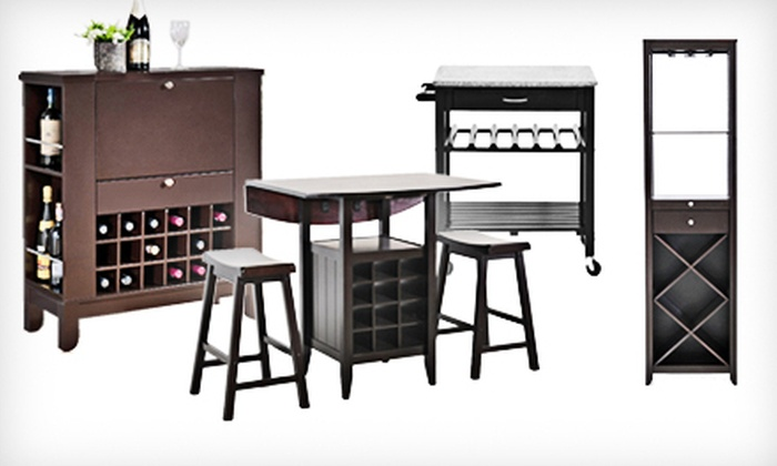 Wine Carts And Cabinets Groupon Goods