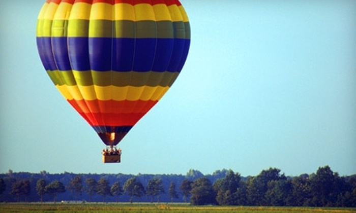 Go Hot Air Ballooning - Arrowhead: $240 for a Two-Person Flight with Champagne Toast from Go Hot Air Ballooning in Broken Arrow ($500 Value)