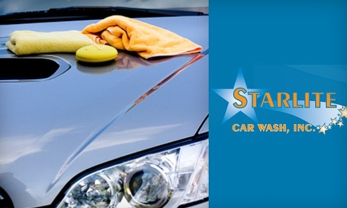 Starlite Car Wash - North Reading: $65 for a Two-Hour Bumper-to-Bumper Detail at Starlite Car Wash in North Reading ($130 Value)