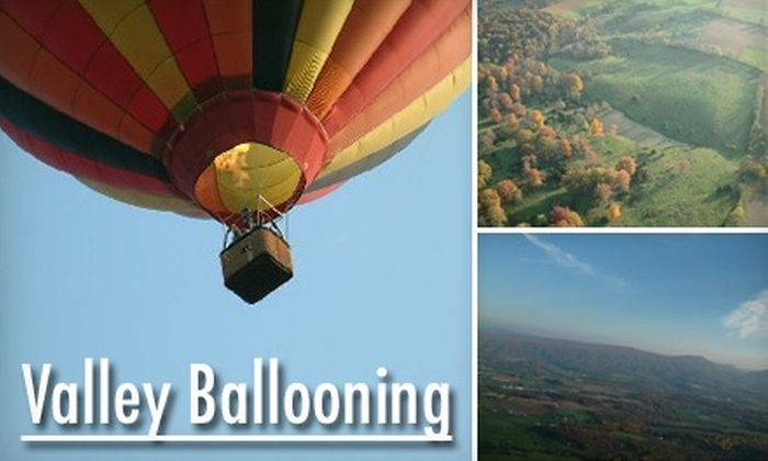 Valley Ballooning - Woodstock: $299 for a Private Flight for Two from Valley Ballooning