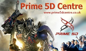 Prime 5D Centre: Simulator Experience for Two at Prime 5D Centre (50% Off)