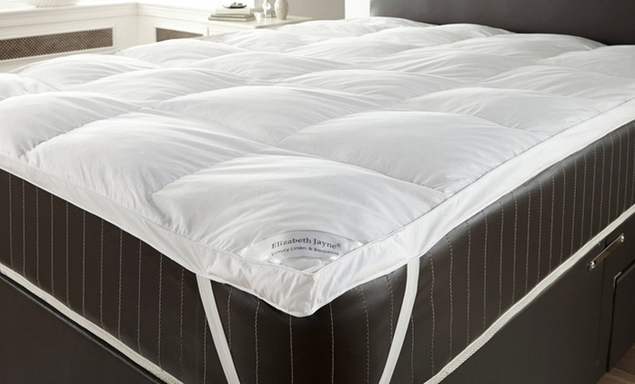 Two Goose Feather Pillows and Down Mattress Topper from €22.99 With Free Delivery (Up to 74% Off)