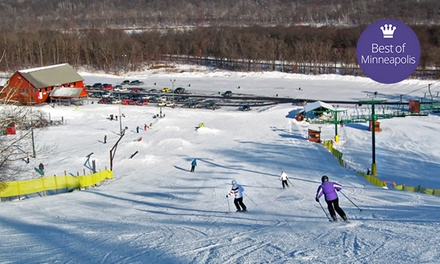 Skiing or Snowboarding at Wild Mountain/Taylors Falls Recreation (Up to 49% Off)