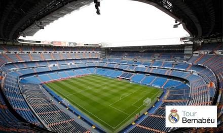 Tour Bernabéu, ¡ven a ver la 13ª! para niño y adulto con opción a audioguía
