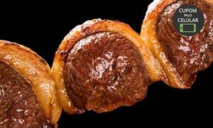 Churrascaria O Galpão Pegorini: Rodízio de carnes com sobremesa para 1 ou 2 pessoas no O Galpão Pegorini – São José