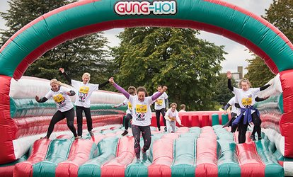 image for 5K Inflatable Obstacle Course Entry with Racepack with Be Gung Ho, Seven Locations (Up to 31% Off)