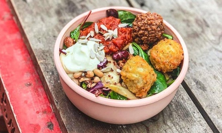 Vegan Arancini Wrap or Salad with Fries and Drink for Up to Four at Arancini Brothers, Three Locations