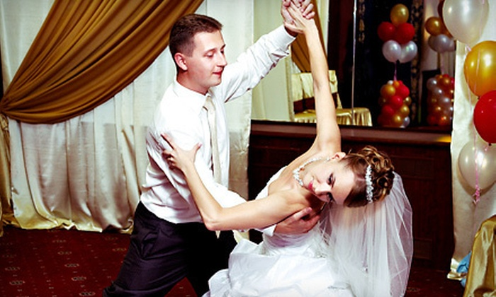 Shall We Dance? - Multiple Locations: $120 for Wedding Dance Package with Four Private Lessons, Choreography, and Music Editing at Shall We Dance? ($240 Value)