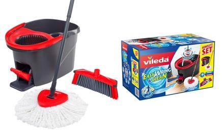 Vileda EasyWring & Clean Wischmop Komplettset mit 3Action Besen-Kopf (Hamburg)