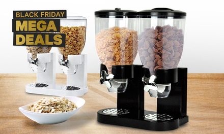 $29 for a Double Cereal Dispenser or a Wall-Mounted Triple Cereal Dispenser