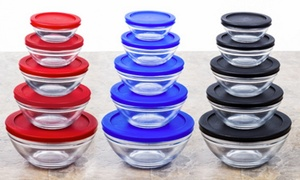 Wexley Home Glass Bowl Set with Airtight Lids (10-Piece) at Wexley Home Glass Bowl Set with Airtight Lids (10-Piece), plus 6.0% Cash Back from Ebates.