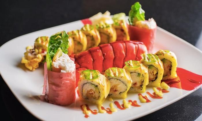 Shima Japanese Steakhouse - Coronado: Sushi, Teppanyaki, and Asian Fusion Dishes for Dinner or Lunch at Shima Japanese Steakhouse (Up to 43%Off)