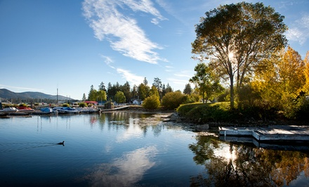 groupon daily deal - 2-Night Cabin Stay at Gold Rush Resort Rentals in Big Bear Lake, CA. Combine Up to 4 Nights.