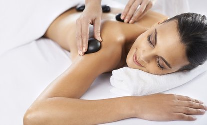 image for Ultrasonic Peeling Facial, Hot Stone and Indian Head Massage, or Both at Maryna's Beauty(Up to 66% Off)