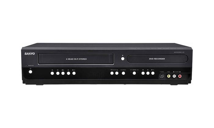 Sanyo DVD Recorder/VCR (Refurbished)