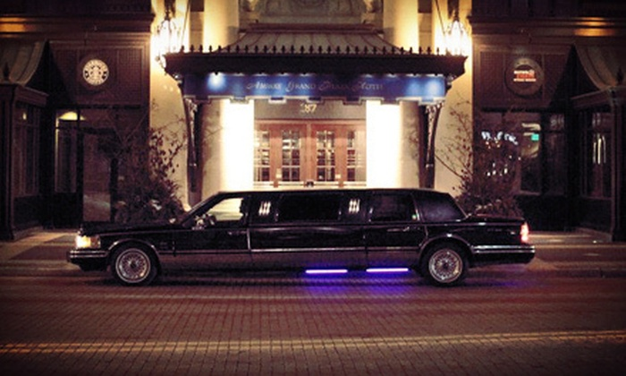 Celebrity Limo MI - Grand Rapids: One-Way or Round-Trip Transportation to and from Gerald R. Ford International Airport from Celebrity Limo MI (Half Off)