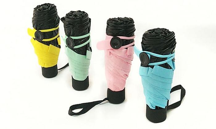 Sensual Sale: $16 for a Compact Anti-UV Folding Umbrella or $30 for Two Compact Anti-UV Folding Umbrellas