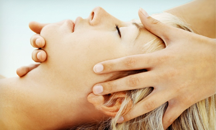 St. Pierre Massage and Spa - Central Napa : $87 for 30-Minute Back, Neck, Shoulder & Face Massage and 60-Minute Pedicure at St. Pierre Massage and Spa ($173 Value)