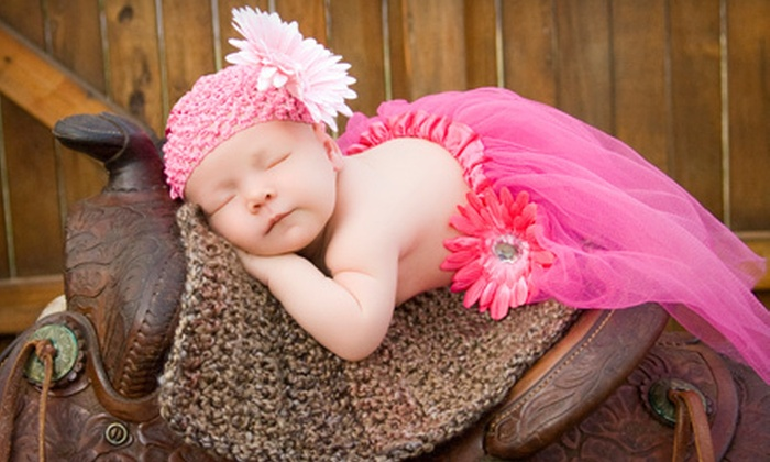 Shutter-Happy Photography - Moosehead Manor: 60-Minute Children's or Family Portrait Session with One Print and Tablet or Cell Phone Cover from Shutter-Happy Photography in Boerne ($215 Value)