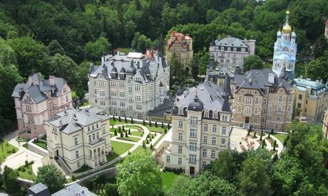 Karlsbad - 2 Nächte für 1 oder 2 Personen mit Halbpension, Welcome Drink, Massage und Wellness im 5 in Karlovy Vary