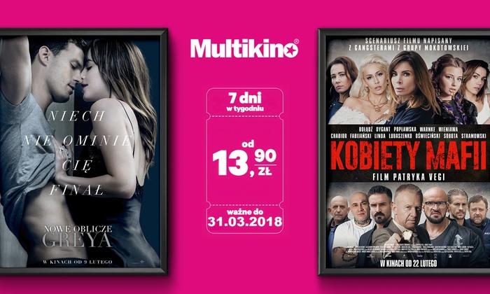 Multikino - Wiele lokalizacji: Od 13,90 zł: bilet na dowolny seans 2D ważny przez cały tydzień w sieci kin Multikino – miejsca standardowe lub VIP