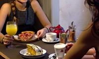 Brunch para 2 o 4 con café o té, zumo, bagel, tarta y mimosa desde 14,95 € Martínez Bar