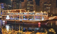 Marina Dhow Cruise with Dinner for One, Two or Four with Desert Rangers