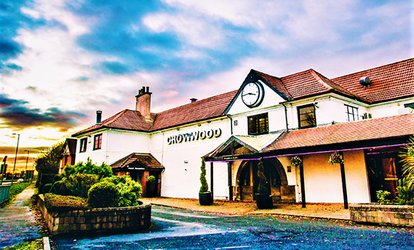 image for Traditional or High Afternoon Tea for Two or Four at The Crowwood Hotel (Up to 60% Off)