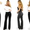 Women's Slim Bootcut Dress Pants