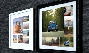 "MeZoo: Framed Collage Print from Mezoo (10""x10"" or 15""x15"") (Up to 90% Off)"