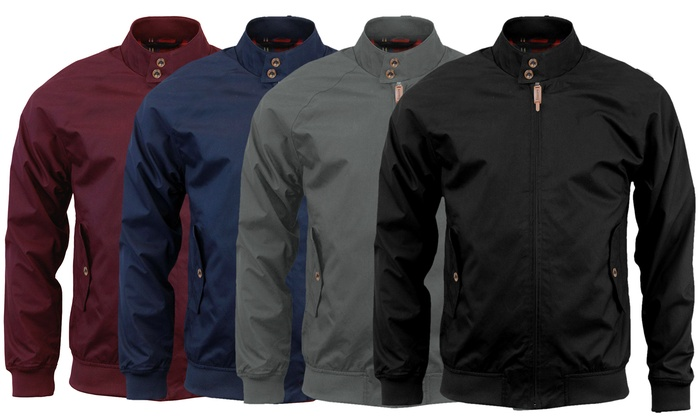 Stallion Clothing Men's Slim Fit Harrington Jacket for £16.99