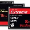 SanDisk Extreme CompactFlash Memory Card for DSLR Cameras (Refurb.)
