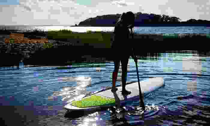The Paddler's Shop at Rivendell Marine - Monument Beach: Two-Hour SUP Rental for Two on Weekdays or Weekends from The Paddler's Shop at Rivendell Marine (Up to 54% Off)
