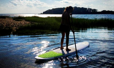 [Two-Hour SUP Rental for Two on Weekdays or Weekends from The Paddler's Shop at Rivendell Marine (Up to 56% Off) Image]