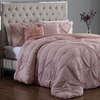 Reversible Comforter Sets with Throw Pillows