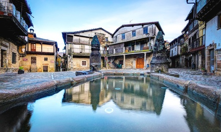 San Martín del Castañar: apartamento con detalles de bienvenida, desayuno, opción a media pensión y visita a Biosfera