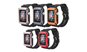 Waloo Tough Armor Apple Watch Strap and Case