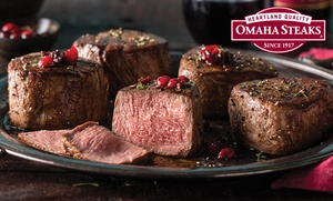 Up to 74% Off Gourmet Gift or Holiday Packs from Omaha Steaks at Omaha Steaks, plus 6.0% Cash Back from Ebates.