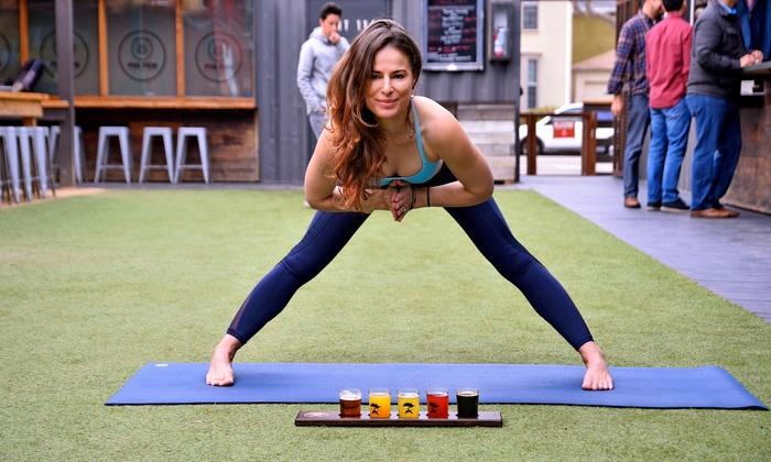 Beer Yoga - Beer Yoga | Groupon