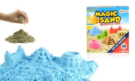 Magic Sand Zaubersand mit Förmchen