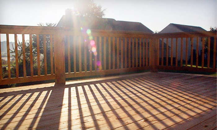 Mobile Detail of Tulsa - Multiple Locations: Home Power Washing or Home, Patio, and Deck Power Washing from Mobile Detail of Tulsa (Up to 78% Off)
